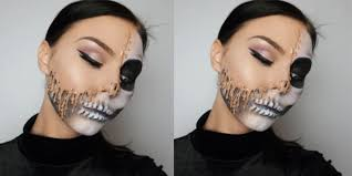 the melted halloween make up trend we u0027re desperate to try