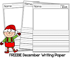 name writing paper december giveaways freebies little minds at work at my school we test fluency using aims web similar to dibels i love to send this fluency practice packet home with my kiddos over the christmas break