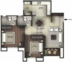 1100 sq ft 2 bhk 2t apartment for sale at rs 75 00 lacs in