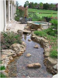 Backyard Stone Fire Pit by Backyards Beautiful Easy Landscaping Ideas For Small Front Yard