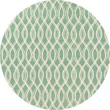 Round Indoor Outdoor Rug Hendrik Indoor Outdoor Rug Mint Ivory