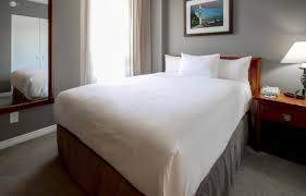 montreal hotel suites accommodations hotel faubourg montreal queen suite