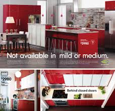 living with red kitchen cabinets at home with kim vallee