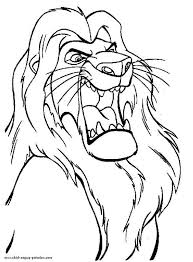 mufasa the great the lion king coloring page download u0026 print