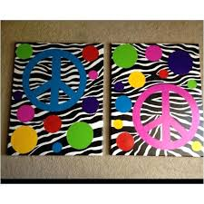peace sign bedroom peace sign bedroom hot pink peace sign on black white zebra stripe