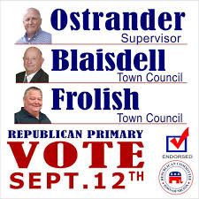 Cusatos Elect Scott Ostrander Town Of Milton Supervisor Home Facebook