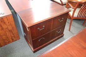 Mahogany Lateral File Cabinet Traditional Mahogany Laminate 2 Drawer Lateral File Plano Used