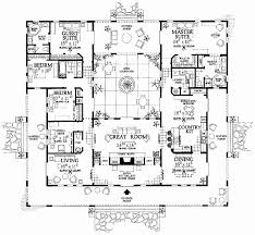 courtyard plans house plans with central courtyard luxury fresh courtyard floor