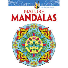 creative coloring books creative haven nature mandalas coloring book