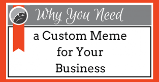 Custom Meme - why you need a custom meme for your business jumping elephant