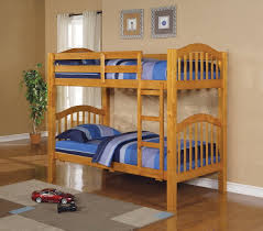 Kids Bedroom Furniture Nj by Heartland Twin Over Twin Bunk Bed Honey Oak 527 00