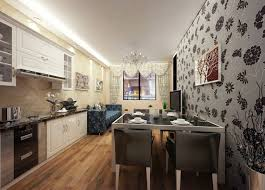 Kitchen Dining by Kitchen Dining Room Wallpaper Dining Room Decor Ideas And