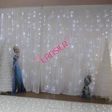 wedding backdrop lighted curtain 3 x 6 meter cheap luxury wedding