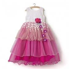 pink colour combination dresses gowns frock pink beautiful colour combo parywear gown online