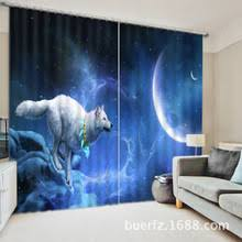 Hotel Drapes Popular Wolf Window Curtains Buy Cheap Wolf Window Curtains Lots