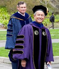faculty regalia leslie e wong invested as 13th president of san francisco state