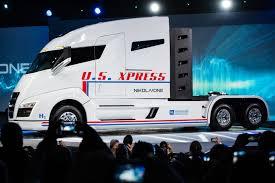 electric truck 2020 nikola one usx corporate