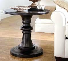 black round pedestal table pedestal end table wood accent tables new pedestal accent table