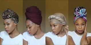 short wraps hairstyle 4 quick easy headwrap turban styles short natural hair twa