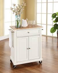 crosley portable kitchen cart island by oj commerce kf30021ewh