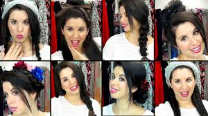 updos for long hair i can do my self 8 easy effortless school hairstyles youtube