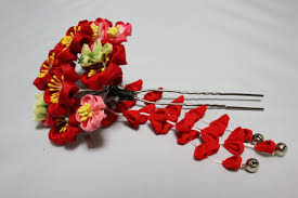 japanese hair ornaments japanese hair accessories tsumami kanzashi best japan