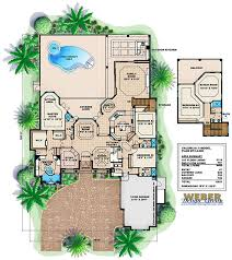 mediterranean house plans with pool mediterranean house plans home design ideas
