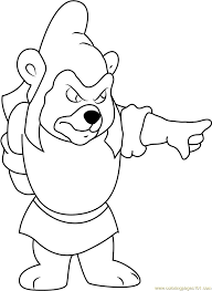 gummy bears coloring page free disney u0027s adventures of the gummi