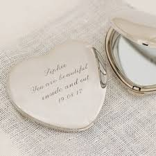 cheap engraved gifts personalised heart compact mirror 28 00 gifts personalised