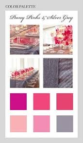 Pink And Grey Color Scheme 21 Best Pink Gray Wedding Images On Pinterest Marriage Dream