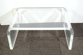 lucite waterfall coffee table waterfall lucite coffee table waterfall coffee table best coffee