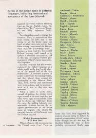 Different Names Of Green by Rehashing The Name Of God With A Jehovah U0027s Witness Elder The Edge