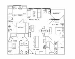 Simple Floor Plan by Simple Floor Plan With Furniture Create A Floor Plan Before You