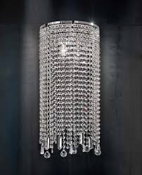 Faux Crystal Chandeliers Crystal Wall Sconce Lighting Shop Glowa Lighting Crystal Wall