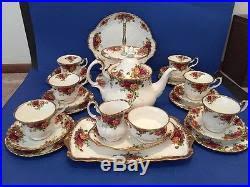 country roses tea set royal albert country roses bone china 26 tea set
