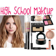 school for makeup high school makeup polyvore