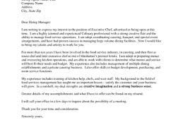 6 chef cover letter samples chef resume sample examples sous