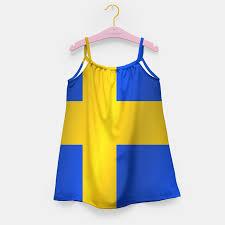 Sweden Flag Image Flag Of Sweden Flag U0027s Dress Live Heroes