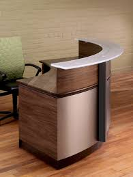 Reception Desk Wood Wrap Around Reception Desk Modern Wood And Glass Reception Desk