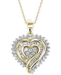 necklace diamond gold images Diamond necklaces macy 39 s 5,0&a