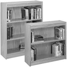 minimalist leaning bookshelf ikea with different size and nice for