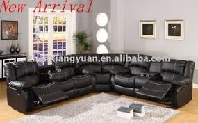 Leather Electric Recliner Sofa 2017 Living Room Furniture Leather Reclining Sofa Corner With