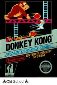 Arcade Meme - donkey kong arcade classics series entertainment nintendo system