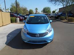 certified pre owned 2015 nissan versa note sv hatchback in mesa