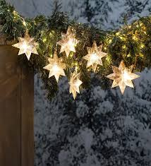 these snowflake led string lights add a big punch of sparkle to your