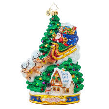 christopher radko ornaments 2015 radko midnight arrival ornament