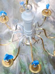How To Refurbish A Chandelier How To Modernize A Traditional Brass Chandelier Hgtv