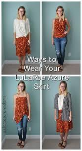 Clothes To Wear On A Safari Lularoe Styling The Azure Skirt Safari With Sarah