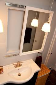 Bathroom Mirror Ideas Pinterest by Best 25 Medicine Cabinet Mirror Ideas On Pinterest Large