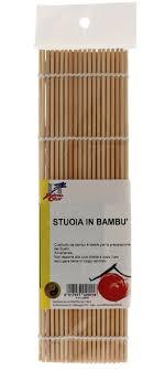 stuoia bamboo stuoia in bambù per sushi la finestra sul cielo
